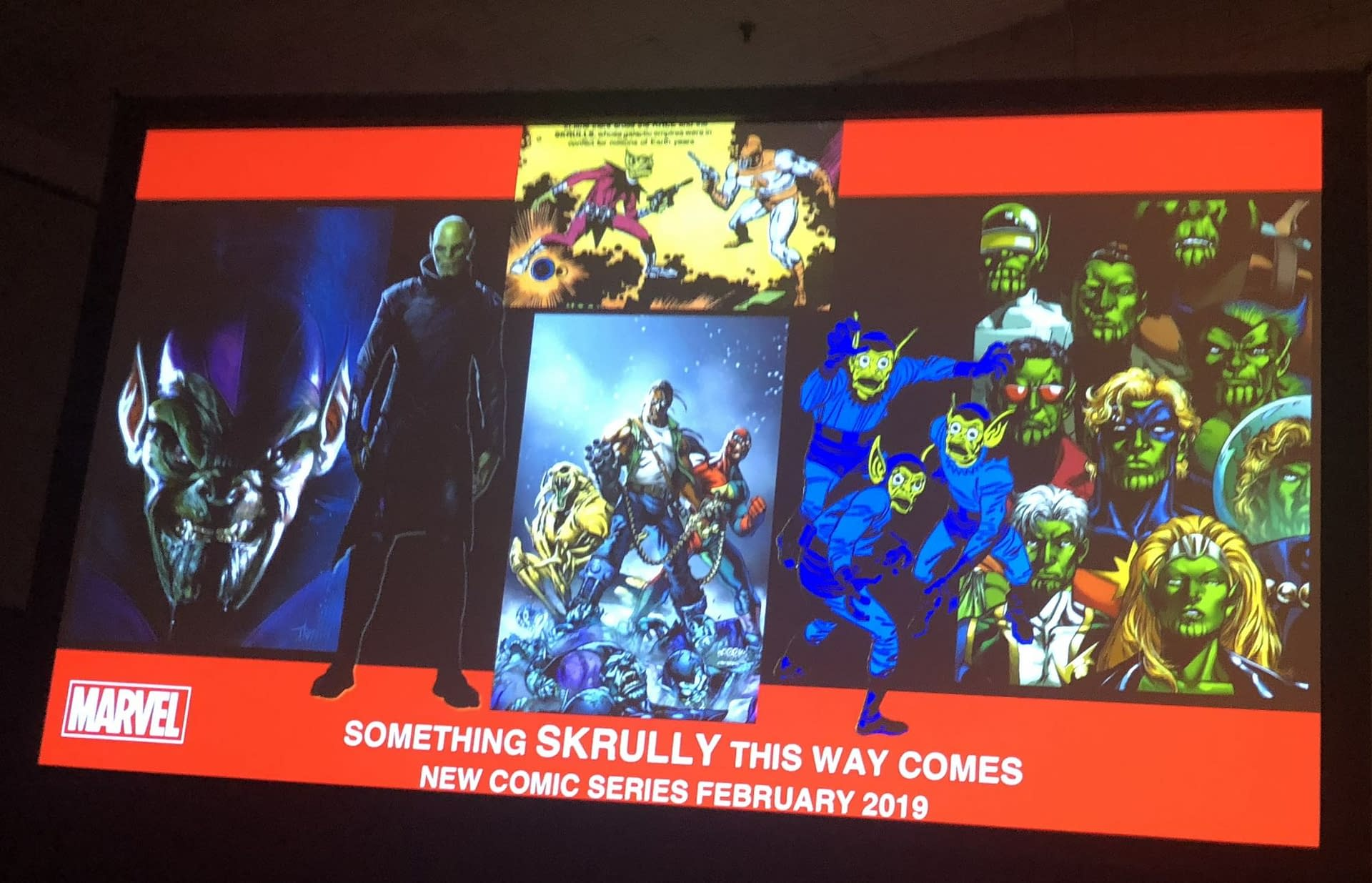 Marvel Comics to Publish 'Meet The Skrulls' by Robbie Thompson and Niko Henrichon