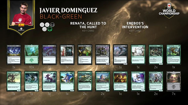 "Worlds XXVI, Day One: Dominguez Vs. Mengucci - ""Magic: The Gathering"""