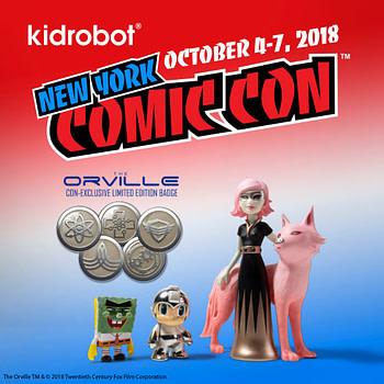 Kidrobot NYCC Exclusives