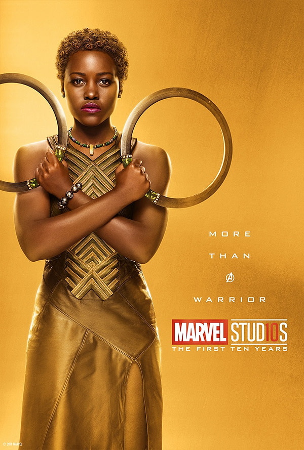 Marvel Studios More Than A Hero Poster Series Nakia