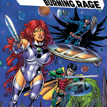 Titans: Burning Rage #7 [Preview]