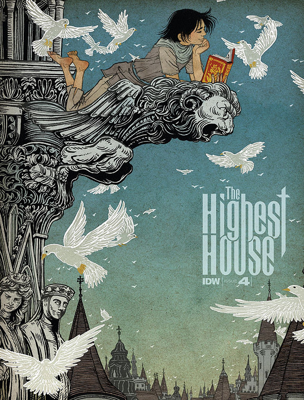 Highest House #4 cover by Yuko Shimizu