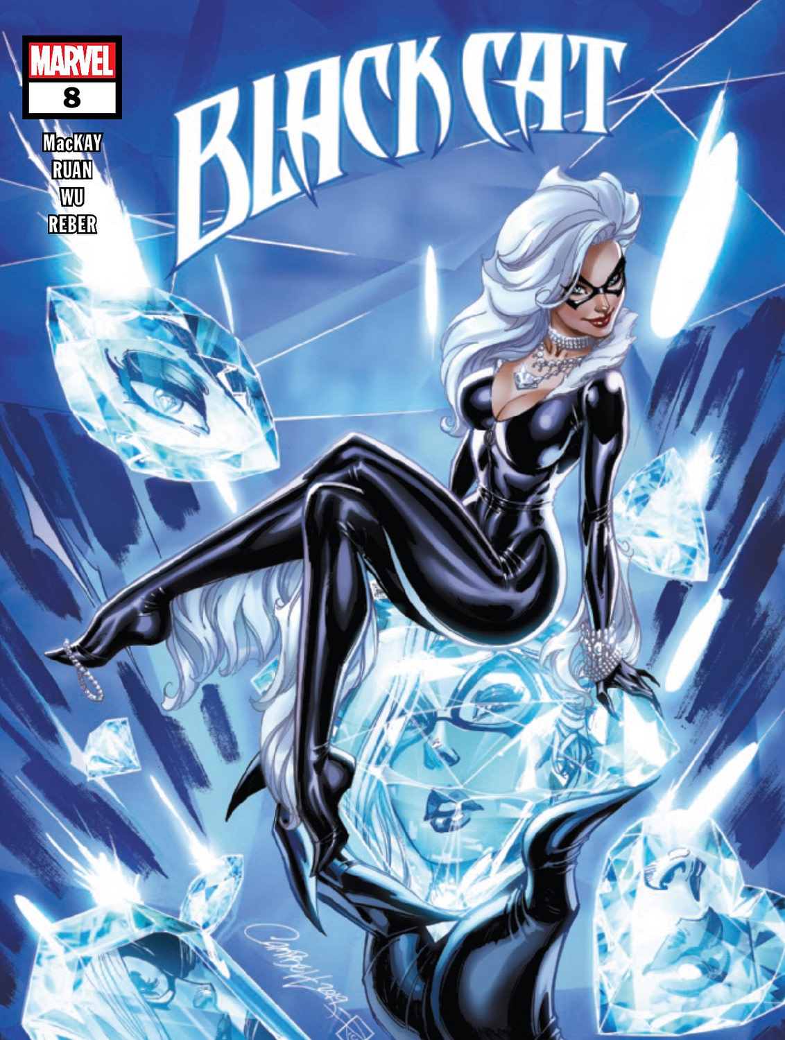 "REVIEW: Black Cat #8 -- ""This Book Is Fun, Smart, Well-Crafted And Enjoyable"""