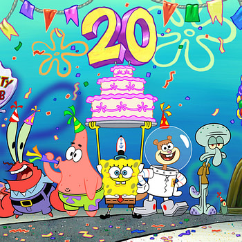 20th Anniversary Spongebob SquarePants Interview SDCC 2019
