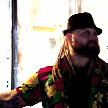 Bray Wyatt makes his move duirng his match at WrestleMania 36.