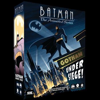batman: the animated series board game