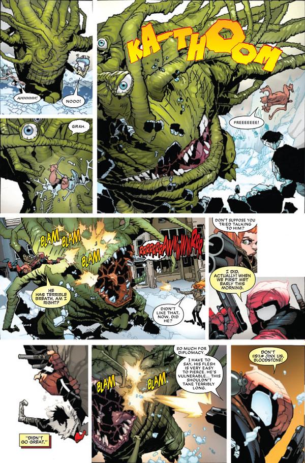 Deadpool #1 [Preview]