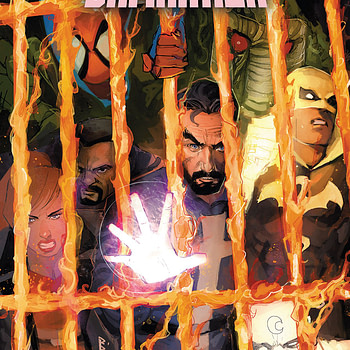 Wong and the Midnight Sons make their final stand against the hordes of Hell and the demonically-possessed Avengers. Before long, Mephisto himself arrives to gloat over having killed Johnny Blaze. However, Mephisto does not know that the Ghost Rider has become the king of Hell, and the tides may soon turn in favor of Wong. Doctor Strange: Damnation ends better than it began. While some of the deliberate lack of repentance on the part of Stephen Strange and the lack of focus on the members of the Midnight Sons that aren't Wong and Strange does bother me, this final installment didn't really get on my nerves as much as the first. Don't get me wrong, this issue still has a myriad of problems that keep it from being required reading. This story was stretched to breaking point, and a good portion of what matters happened in the Ghost Rider issue. This book is a protracted third act. As far as plot-relevance goes, Blade, Doctor Voodoo, Bloodstone, Man-Thing, Scarlet Spider, Moon Knight, and Iron Fist may as well not be here. Even in their own tie-ins, Iron Fist and Scarlet Spider don't really do anything important to the story. The follow-up story promises more with the Midnight Sons though, and that will hopefully come to something. Rod Reis' artwork is a welcome presence in this book. His style lends itself to the ethereal and surreal nature of this setting and plot. The color gradience adds a unique atmosphere and generally looks quite good. Szymon Kudranski and Dan Brown handle the epilogue with the Midnight Sons and Doc Strange. The more realistic aesthetic does contrast Reis' work in an odd manner, but it looks good too. Doctor Strange: Damnation #4 is a decent enough read. If you liked the rest of the story, you'll like this one too. The fact that the story at least acknowledges that Strange's idea was terrible from the start and ties it to personal problems helps a lot. Reis, Kudranksi, and Brown provide good visuals. Feel free to check it out.