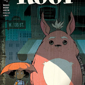 Sanford Greene Homages My Neighbor Totoro for My Bitter Root #6 Variant