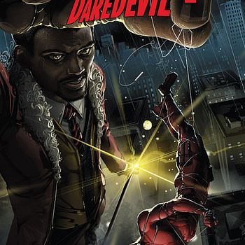 Infinity Countdown: Daredevil #1 cover by Clayton Crain