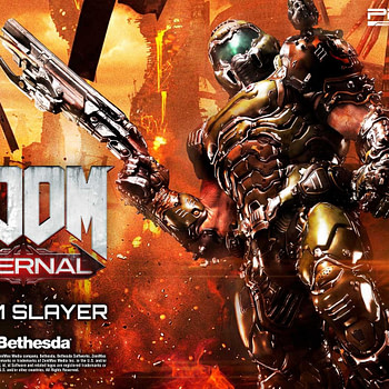 """Doom Eternal"" Comes to Life in New Prime 1 Studio Statue"