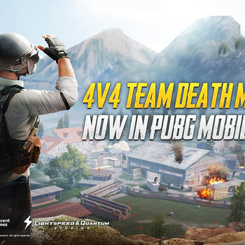"""PUBG Mobile"" Finally Gets The 4-v-4 Deathmatch Mode"