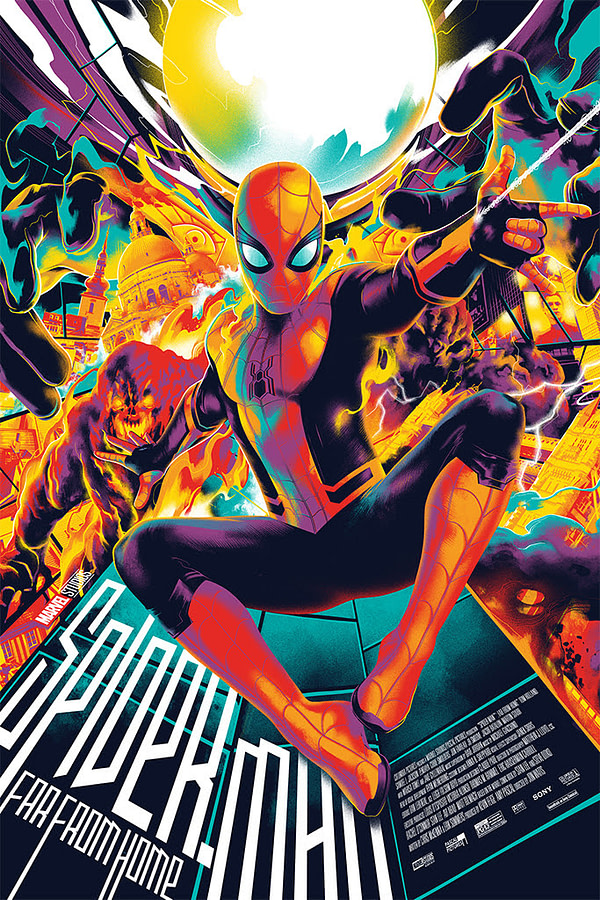 Mondo Has a New Spider-Man: Far From Home Matt Taylor Poster Available