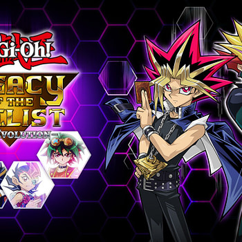 """Yu-Gi-Oh! Legacy of the Duelist"" Includes both Japanese and English Card Art"