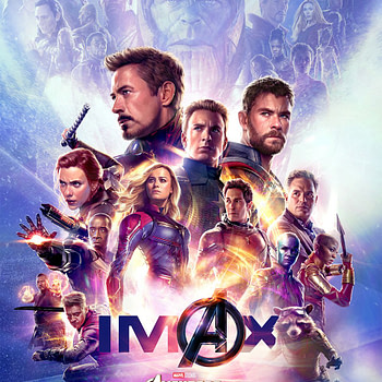The New Team Stands Tall On This Avengers: Endgame IMAX Poster