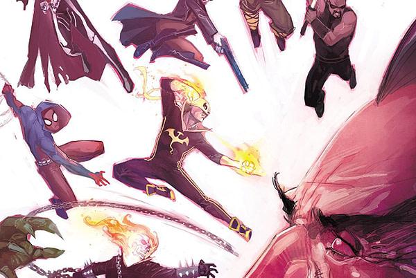 Doctor Strange: Damnation #2 cover by Rod Reis