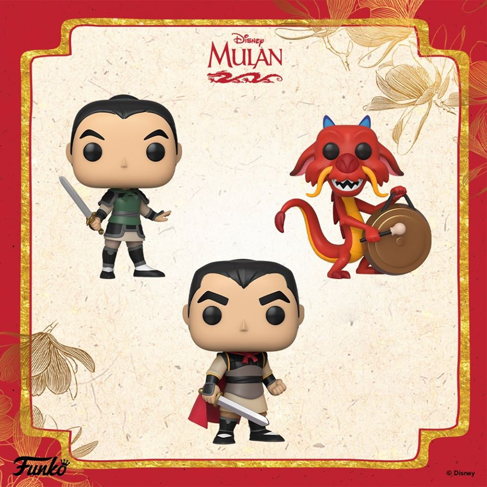 Let's Get down to Business with New Mulan Funko Pop's