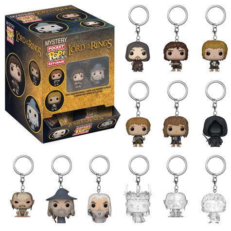 Funko Lord of the RIngs Pocket Pop Keychains