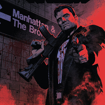 The Punisher #1 cover by Greg Smallwood