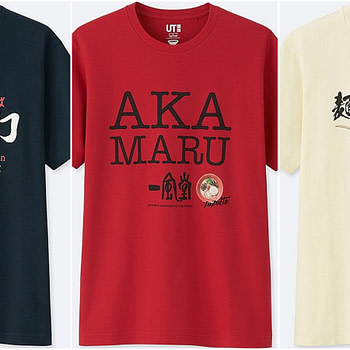 uniqlo ramen t-shirts