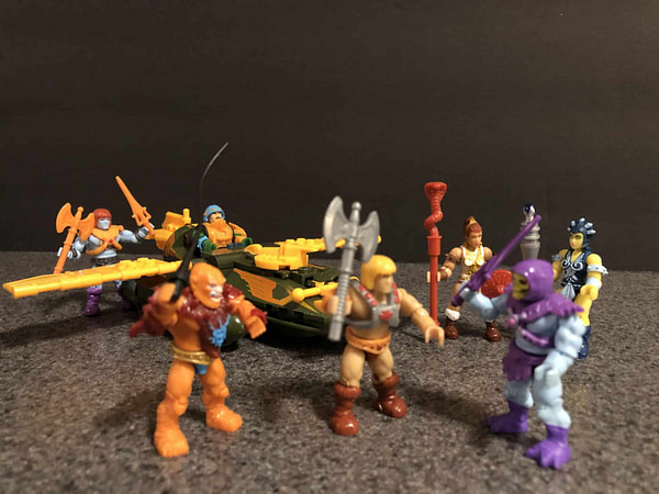 Mega Construx Masters of the Universe Wing Raider 18