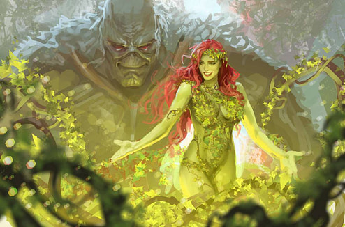 Looks Like Stjepan Sejic is Serious About His Poison Ivy Sequel to Harleen, Iseley birds of prey