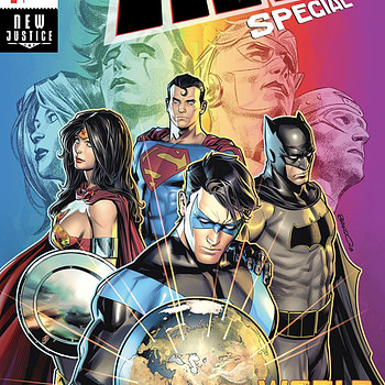 Titans Special #1 cover by Brandon Peterson
