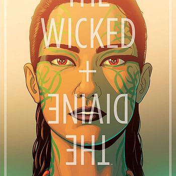 The Wicked + The Divine #36 cover by Jamie McKelvie and Matt Wilson