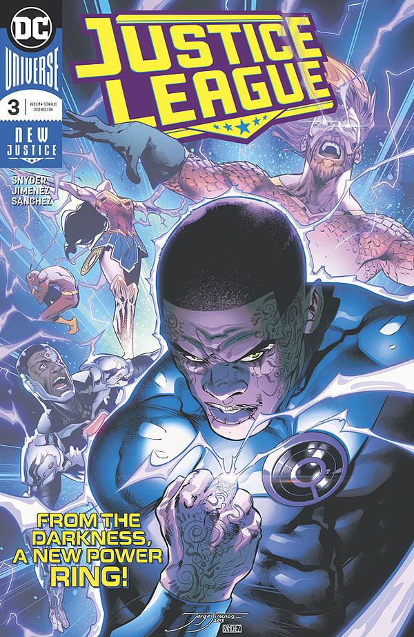 Justice League #3 cover by Phil Jimenez and Alejandro Sanchez