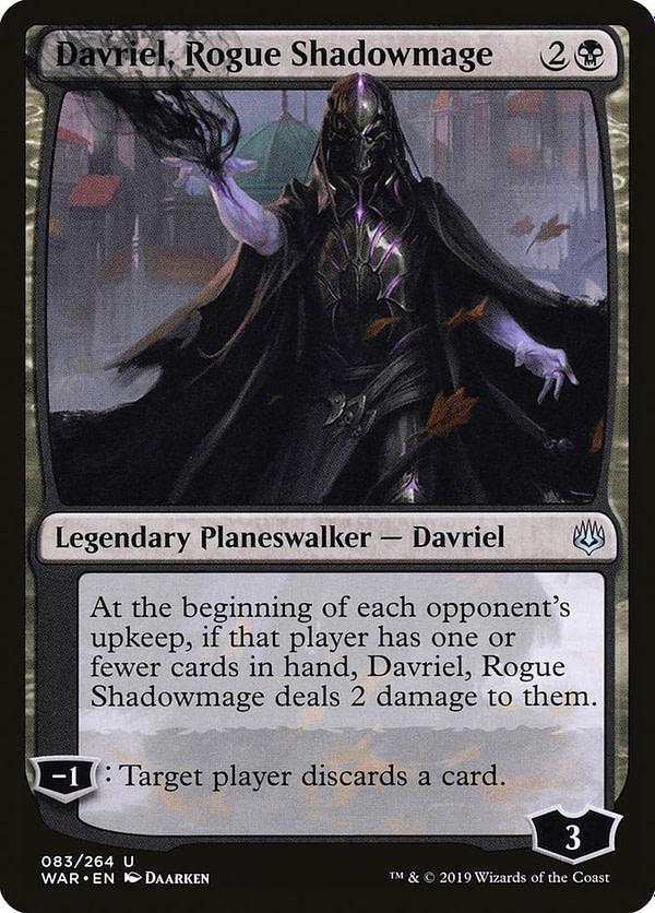 """Davriel, Rogue Shadowmage"" Deck Tech - ""Magic: The Gathering"""