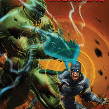 Death of the Inhumans #3 cover by Kaare Andrews