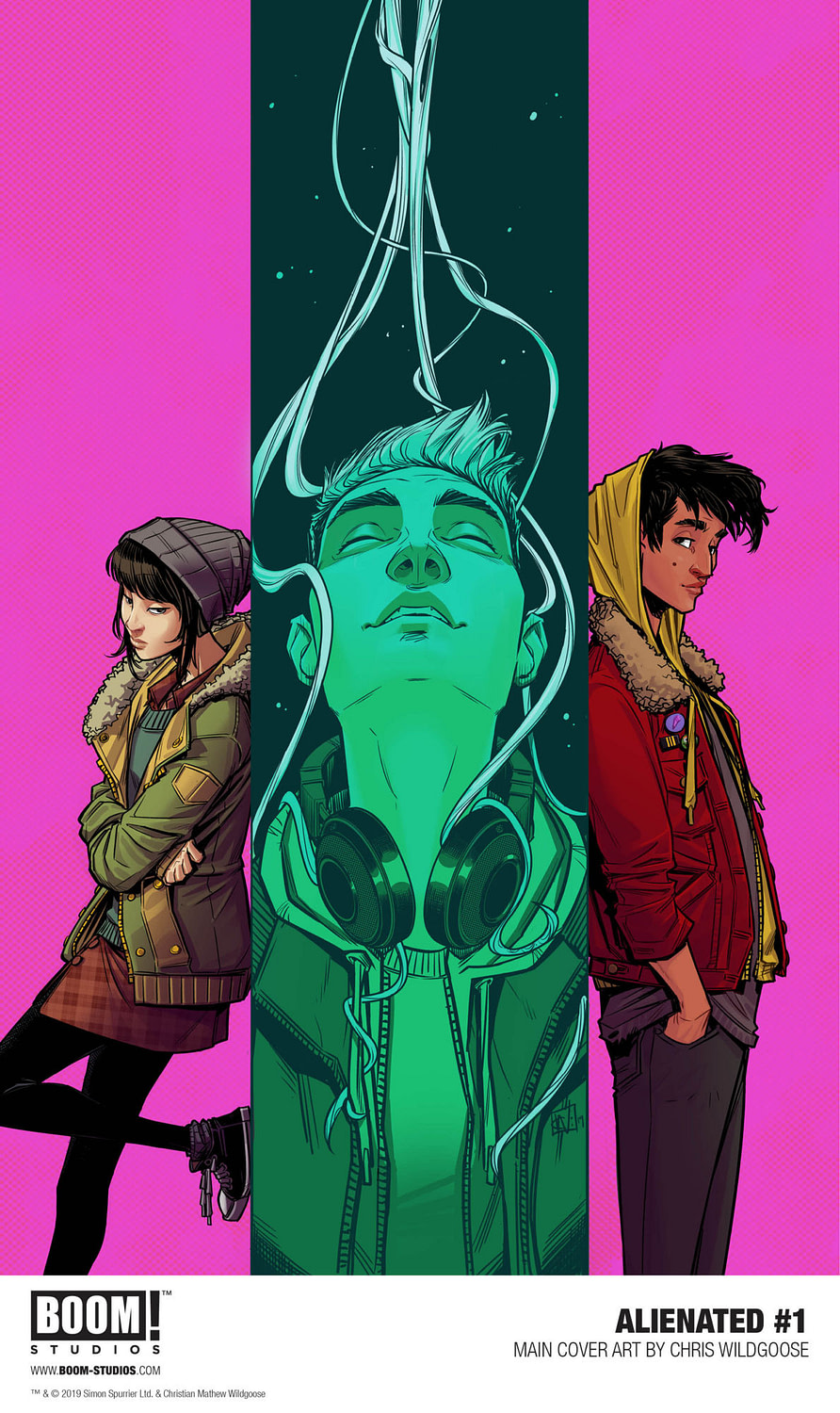 BOOM! Announces Alienated from Si Spurrier and Chris Wildgoose at NYCC
