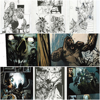 Seven More Pages From Spawn #300