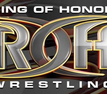 ROH wrestling logo