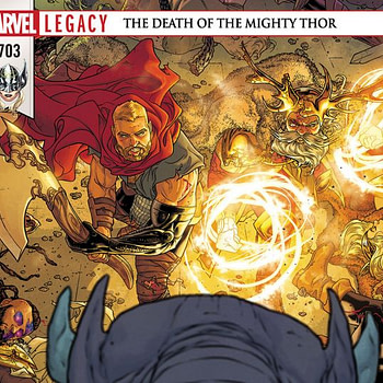Thor #703 cover by Russel Dauterman and Matthew Wilson