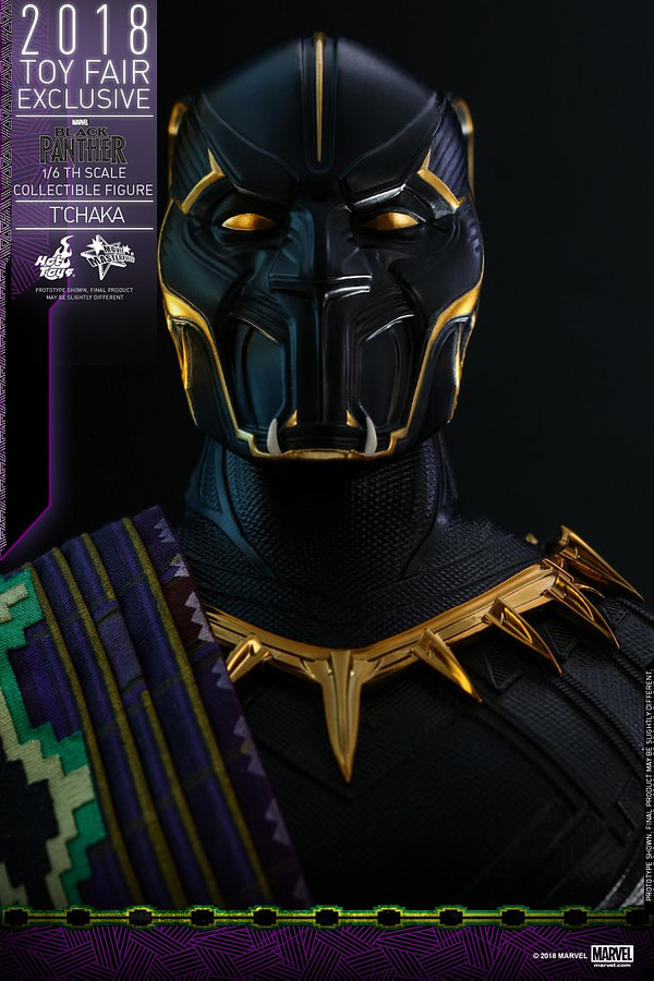 Hot Toys T'Chaka Black Panther 4