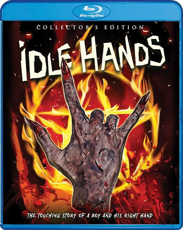 ldle mains nouveau Blu-ray de Scream Factory Cover