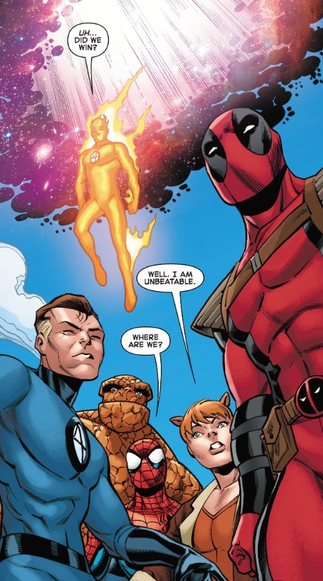 Deadpool Has Finally Broken the Fourth Wall for Real in Spider-Man/Deadpool #49 (Spoilers)