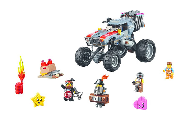 LEGO Movie 2 Emmet and Lucys Escape Buggy 2