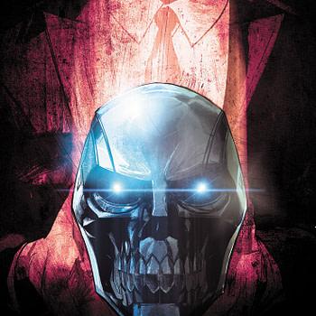"DC's 'Black"" Mask Guns for Big Biz Money in August"