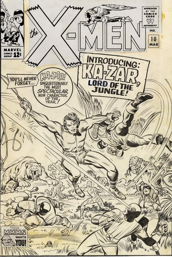 Marvel Unveils 6 New Powers of X #1 Variants by Jack Kirby, More