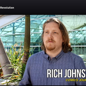 "When Rich Johnston Spoke Out On ""The Image Revolution"", and More!  The Tubi Holiday Comic Book Watch List"