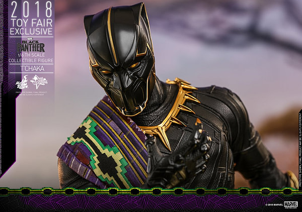 Hot Toys T'Chaka Black Panther 9