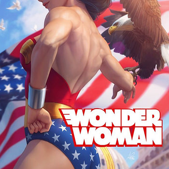 Even More Artwork From Wonder Woman 750