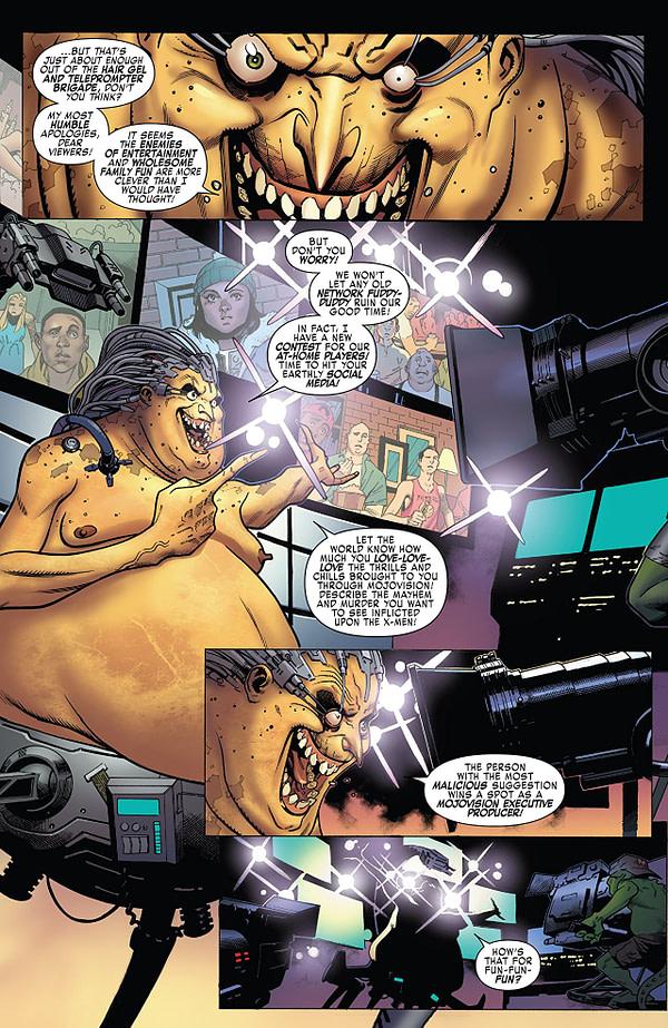 X-Men: Blue art by Jorge Molina, Matt Milla, and Guru-eFX