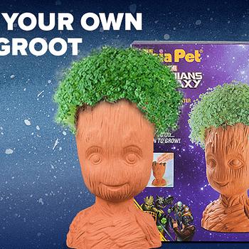 Loot Crate Adds Groot Chia Pet to December Crate