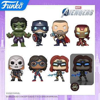 "Funko Pop New York Toy Fair 2020 Reveals - ""Marvel's Avengers"""