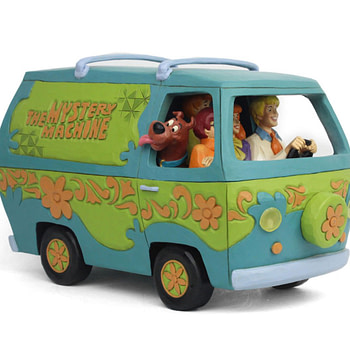 Scooby-Doo and the Gang Return with New Enesco Figurine