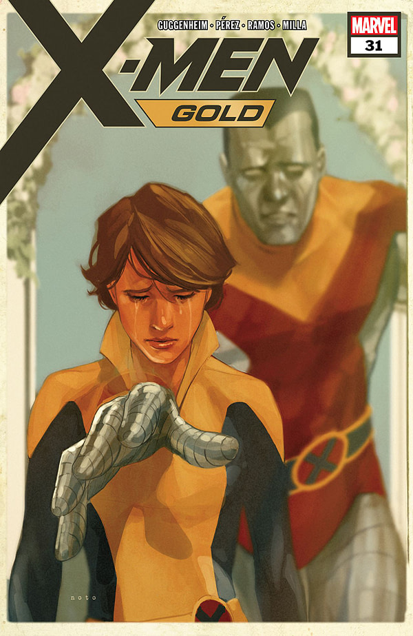 X-Men: Gold #31 cover by Phil Noto