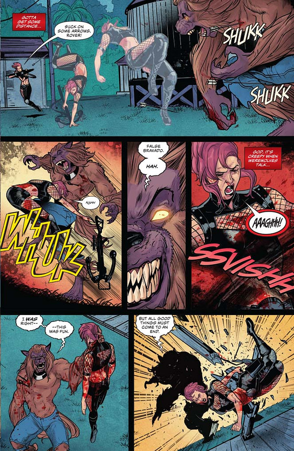 A Writer's Commentary: Erik Burnham on Chastity (Vol 2) #5, on sale NOW from Dynamite!